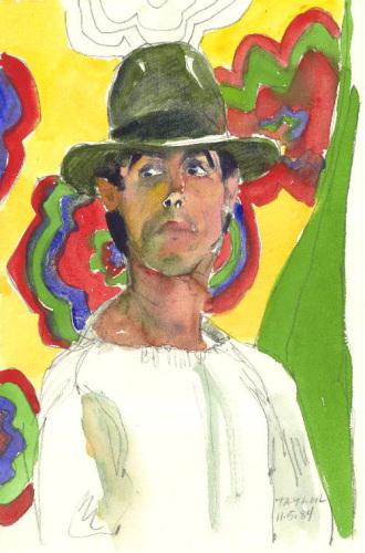 Man in Fedora: Daniel Llanes (large view)