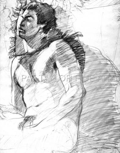Dreamy Male Nude