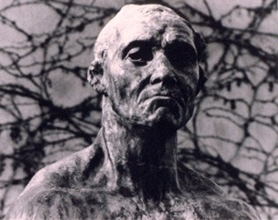 Head of Jean d'Eyre (After Rodin)