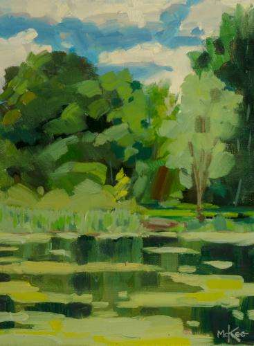 Duke Gardens, New Jersey by Dennis McKee Fine Art