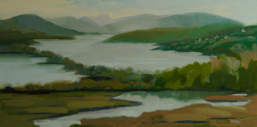 View from Boscobel, Hudson River Valley by Dennis McKee Fine Art