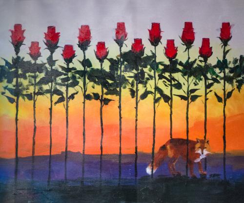 Rose City Sunset by Dennis McKee Fine Art