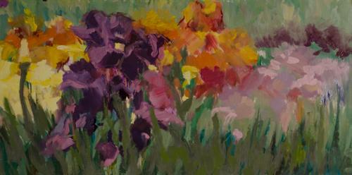 Irises by Dennis McKee Fine Art