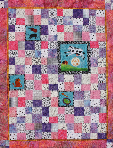 Emree's Quilt by Frances Oldham Murphy/Pupster Productions