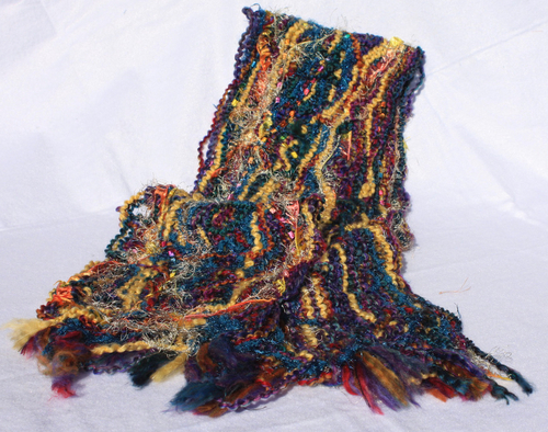 Fiber Scarf (Non-woven) (large view)