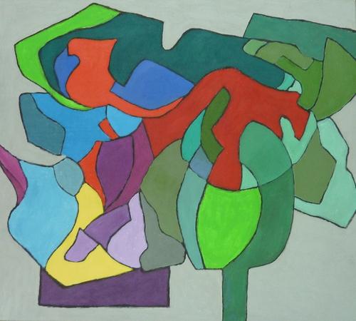 Deconstruction gray ver 1 by Paul Uyehara