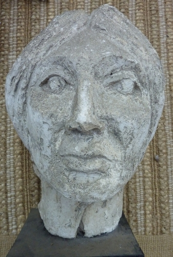 Sculpture Female bust 1