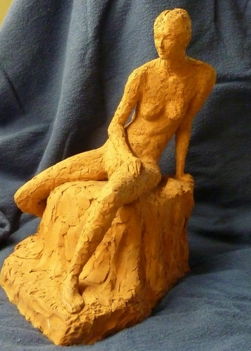 Seated woman (view 1)