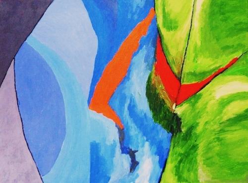 Color Motion b by Paul Uyehara