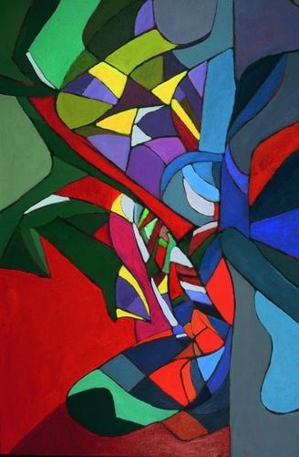 Triptych 1 left panel