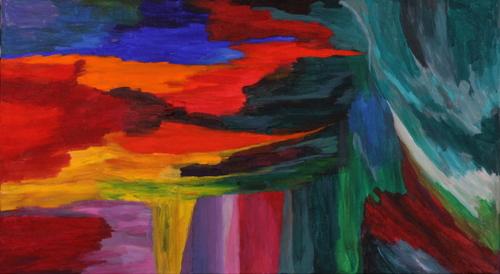 Color / Motion #4 by Paul Uyehara