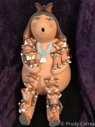 Ácoma Lop Rabbit storyteller