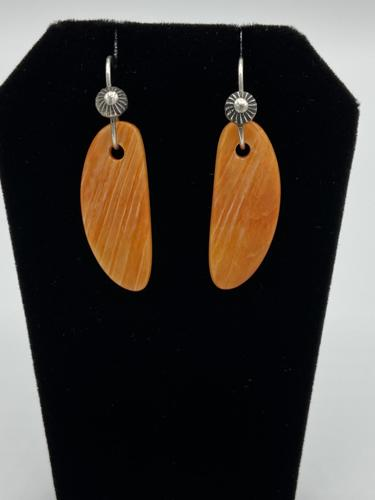 Spiny Oyster earrings  by Piki wadsworth