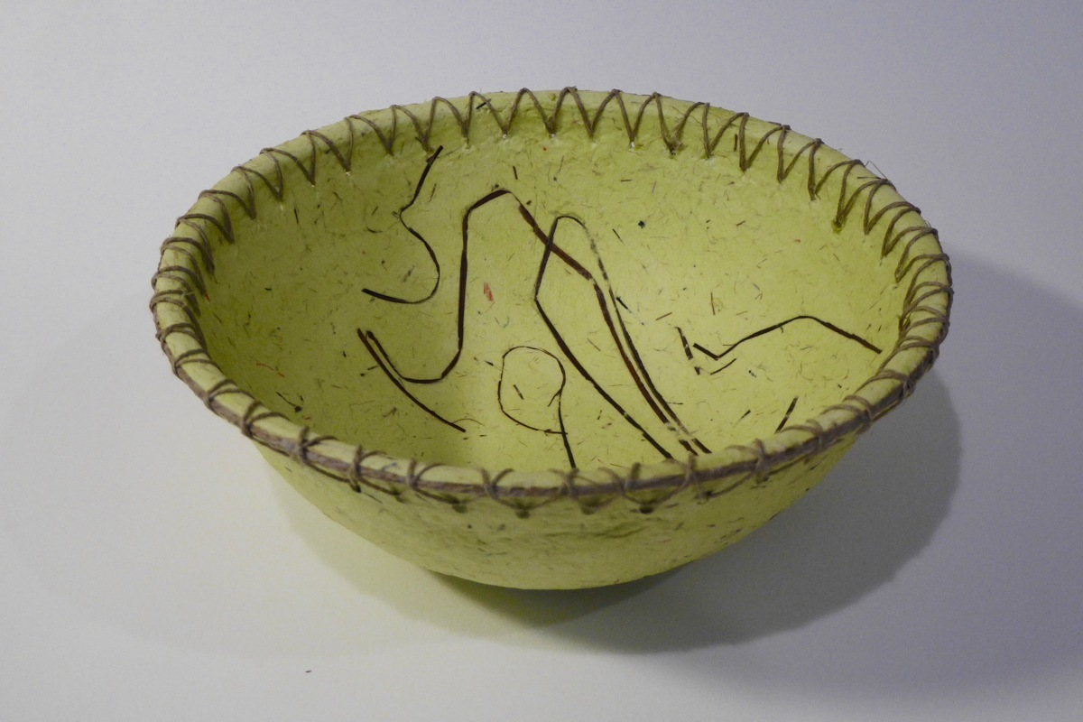 "7""Green bowl (large view)"
