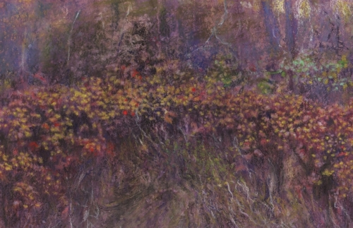 purples and oranges (large view)