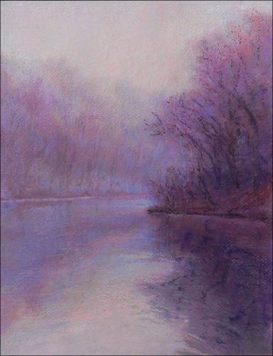 Fog on Mill Pond