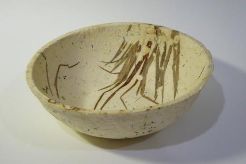 """8"""" embedded grass bowl"""