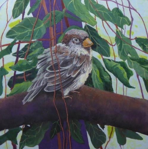 Painting--Acrylic-AnimalsA Moment
