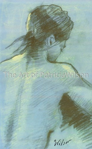 Blue Nude #1 by Patricia Wilson