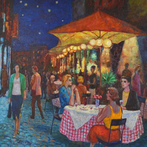 Rome's evening by Ping Yin