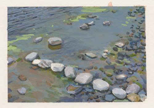 Stones at RIver's Edge