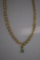 18K Gold & Emerald Roman Necklace (thumbnail)