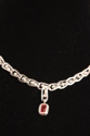 Fine Silver Andesine-Labradorite Roman Necklace (thumbnail)