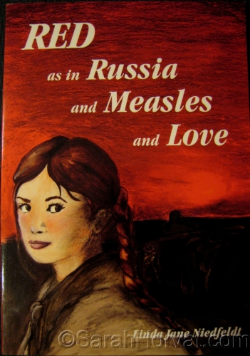 "Book Cover,  ""Red as in Russia…"""