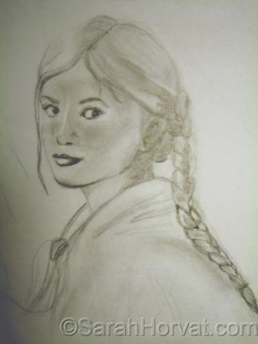 Lisenka concept sketch by Sarah Horvat