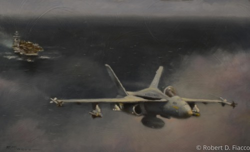 Hornet Strike (Limited Edition Giclee Print)