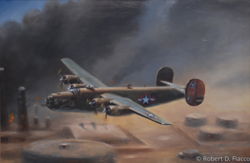B-24D Pelosti Raid