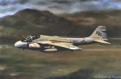 Intruder Low Level Giclee