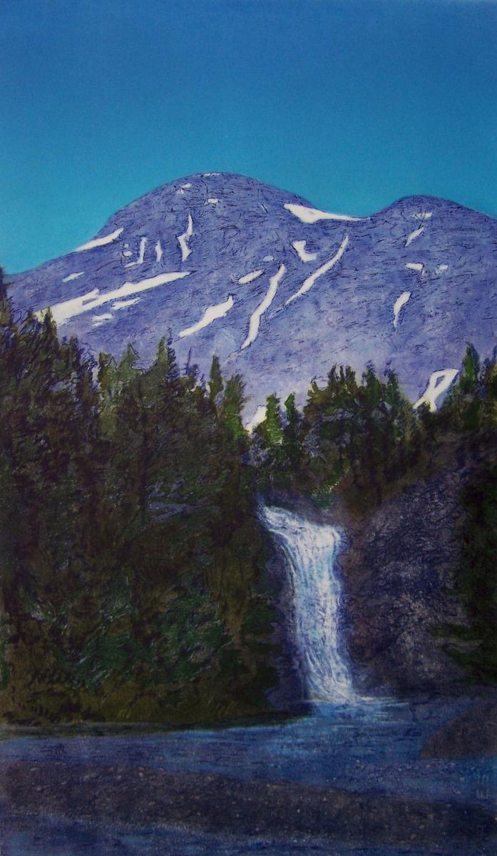 Springtide, Running Eagle Falls (large view)