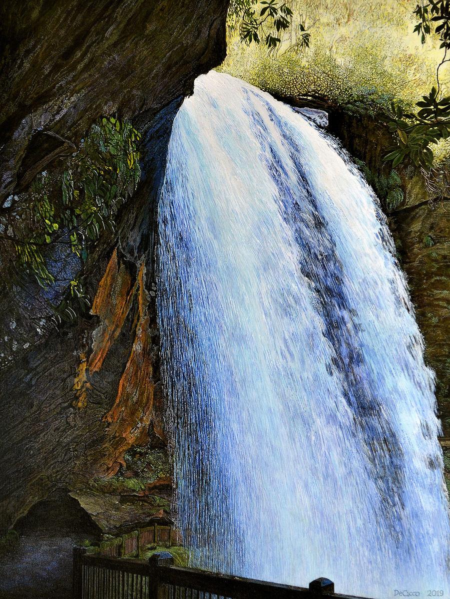 Dry Falls , Cullasaja River (large view)