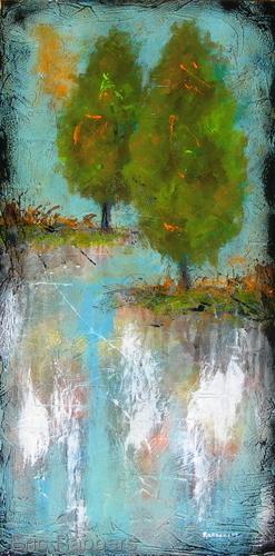 Sea Blue Tree 2 of 2