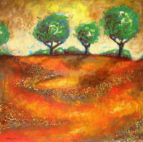 Orange Fields 2 of 2