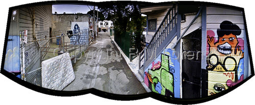 Mission District Alley