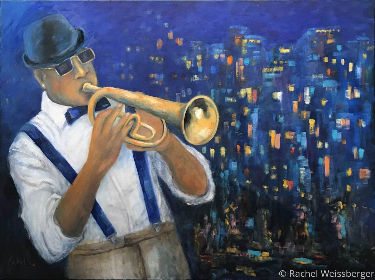 Trumpet In The City (large view)