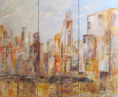 Cityscape Triptych