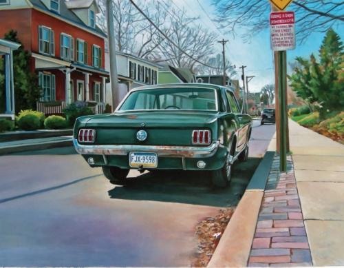 Center Street Mustang