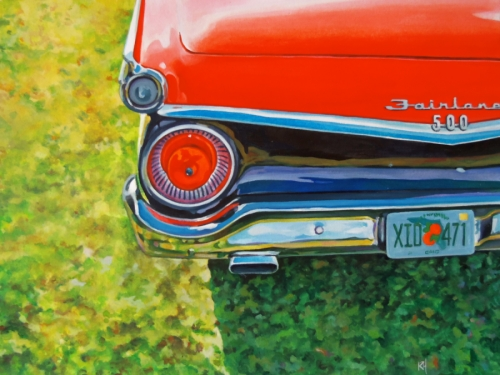 1959 Ford rear end