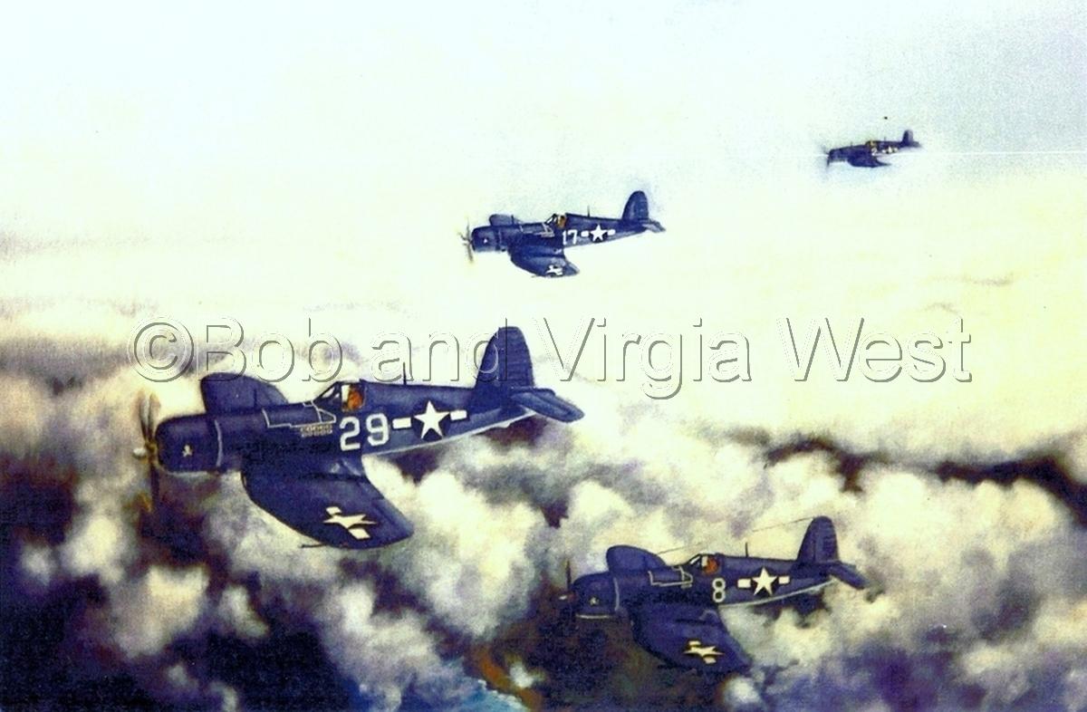 War Birds in Flight (large view)