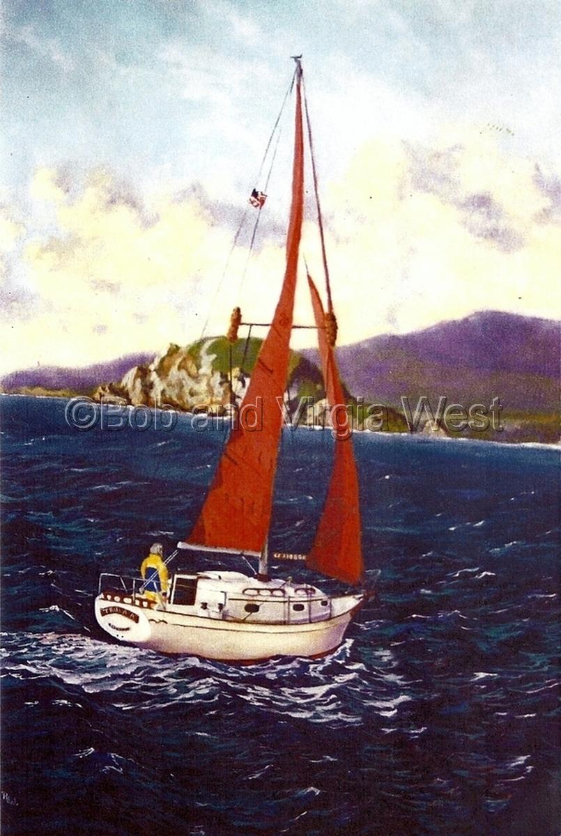 Doug's Sailboat (large view)
