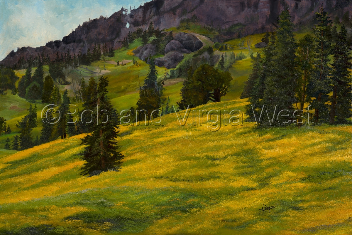 Black Tail Plateau--Yellowstone (large view)