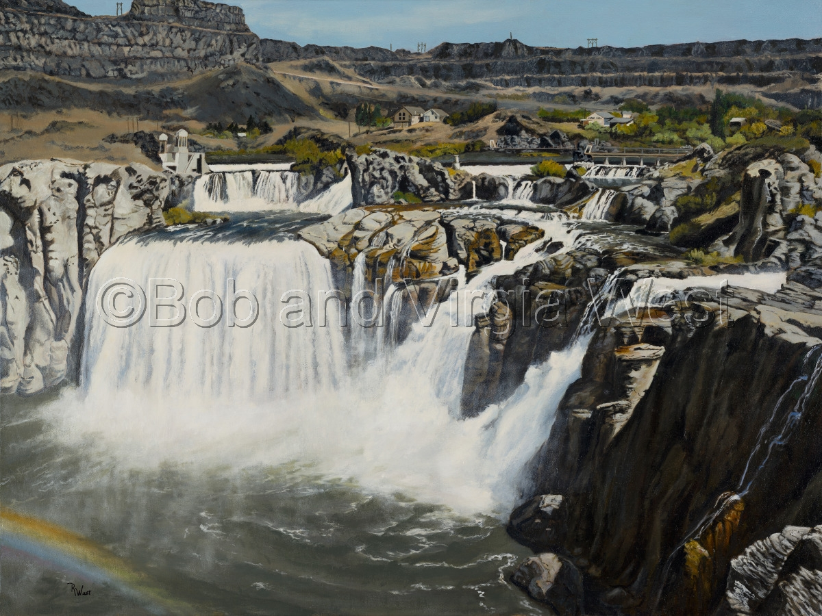 Shoshone Falls--Idaho (large view)