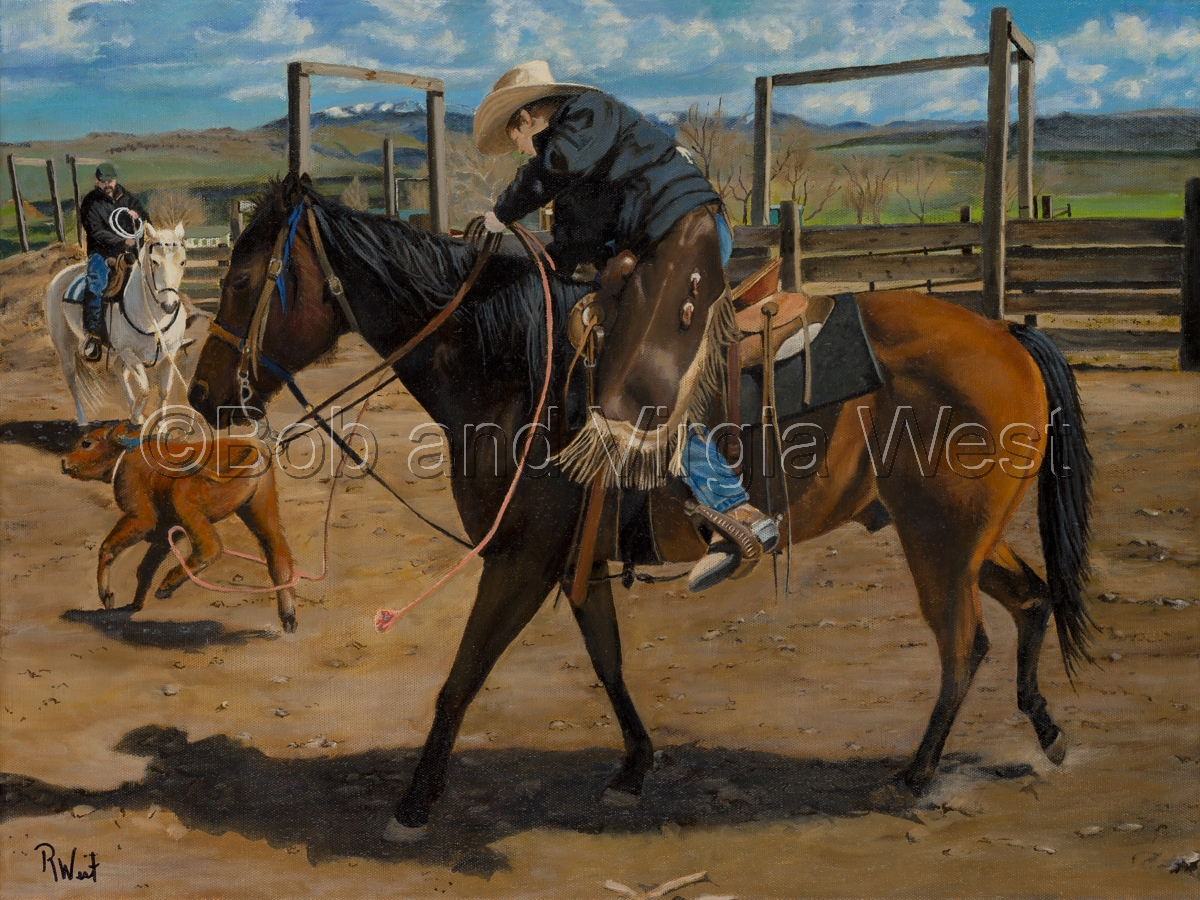 Ropin' to Brand (large view)