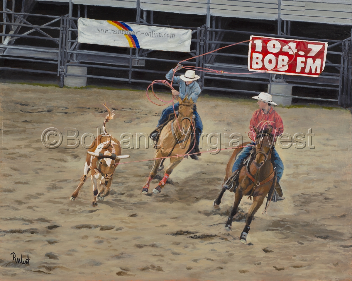 Team Roping (large view)