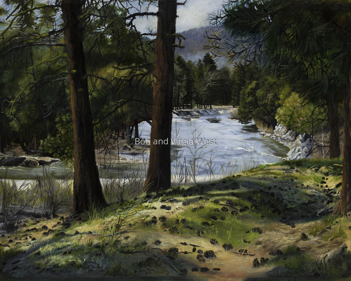 Roaring River-Pine-Featherville, Idaho (large view)