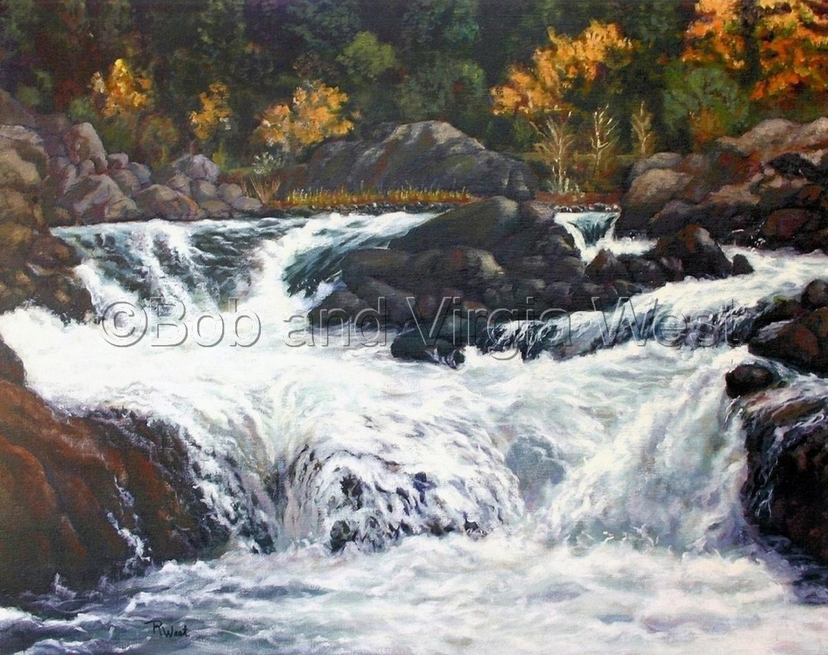 Bloomer Falls, Pecwan Area (large view)