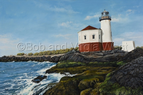 Coquille Lighthouse, Bandon, OR. (large view)